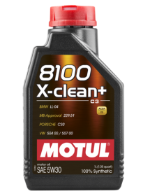 8100 X-CLEAN+ 5W30 60lt/kg