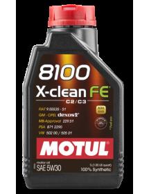 8100 X-CLEAN FE 5W30 C2/C3 1000lt/kg