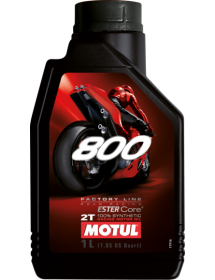 800 2T FL ROAD RACING 1lt/kg