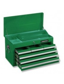 caja metálica con 6 cajones