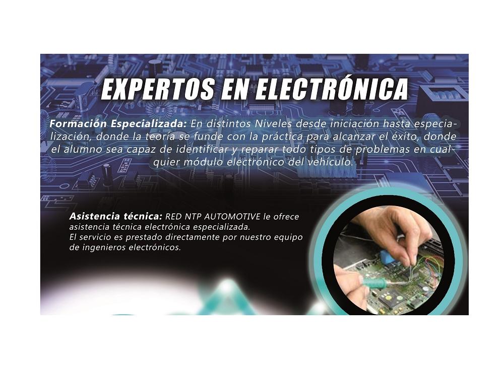 CURSO ELECTRÓNICA DE AUTOMOCIÓN