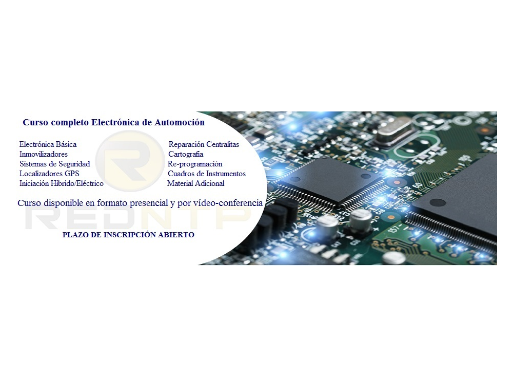 Plazo de inscripción abierto para nuestros cursos de Electrónica de Automoción