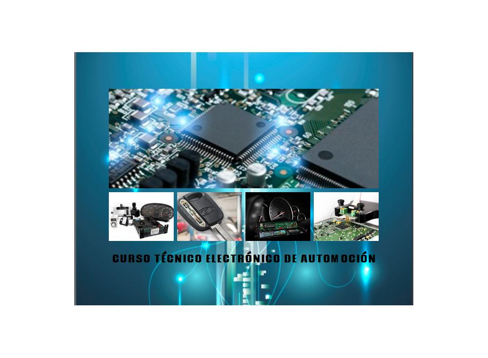 """Nuevo curso """" Técnico Electrónico de Automoción Nivel 1 """""""