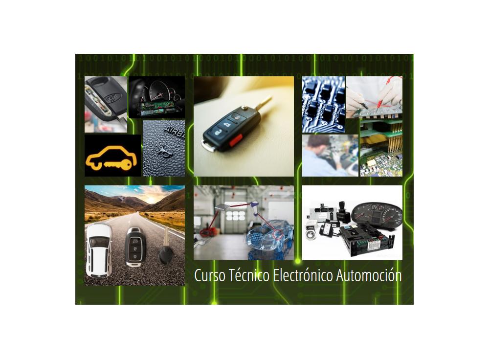 """Nuevo curso """"  Técnico Electrónico de Automoción Nivel 2 """""""